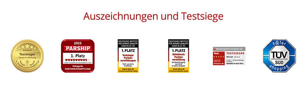 Partnersuche PARSHIP » Beste Partnervermittlung DISQ 2013